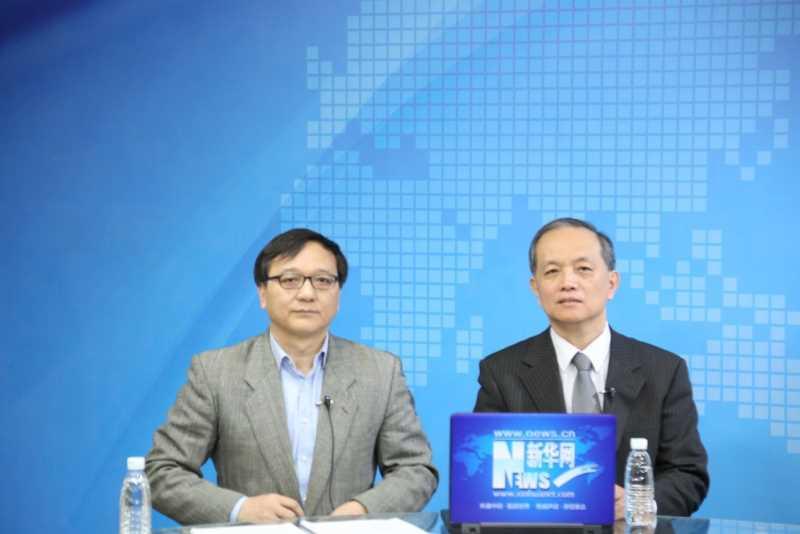 2015 年 2 月 2 日接受新華社專題採訪報導