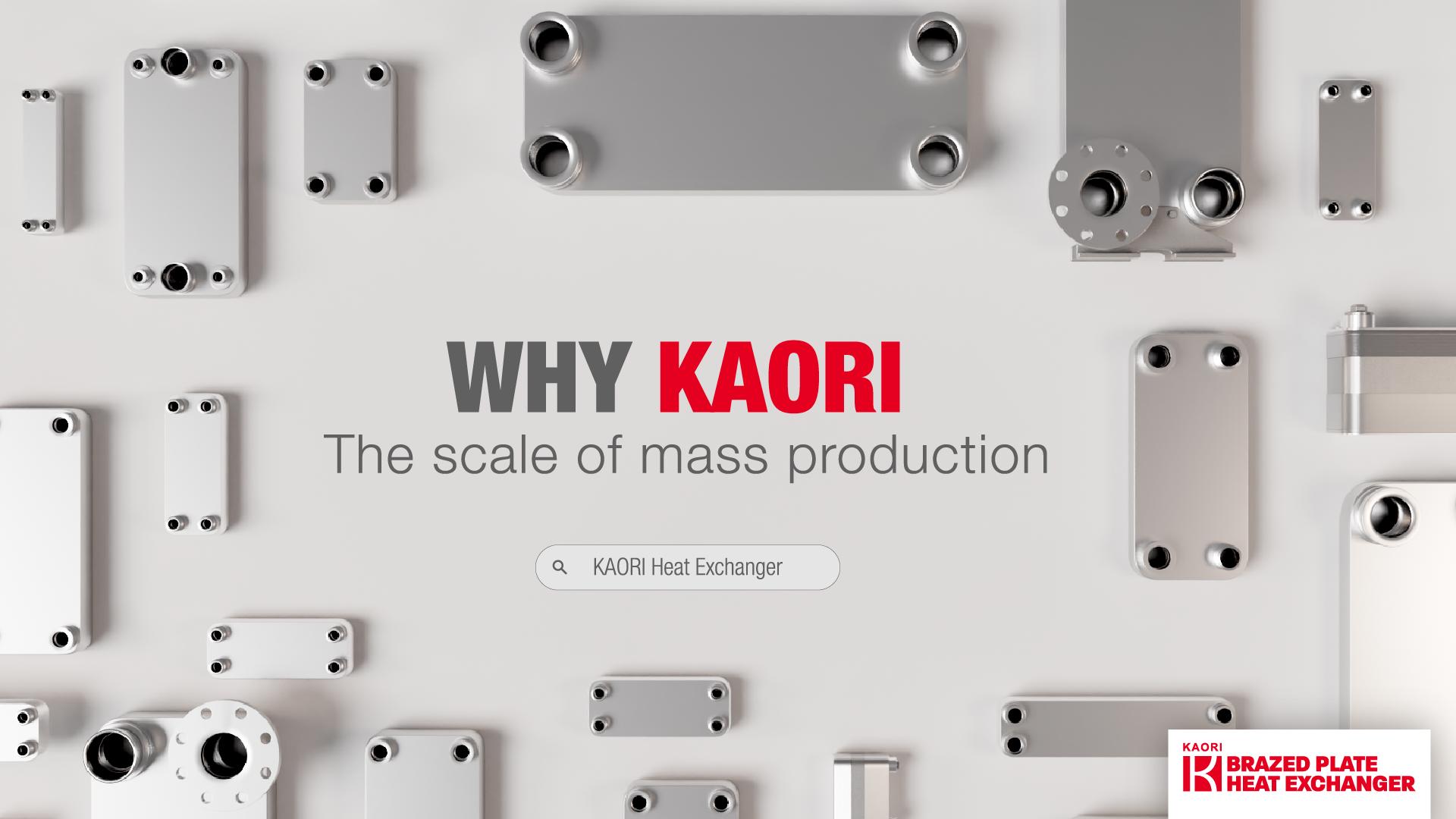 Why KAORI Heat Exchangers